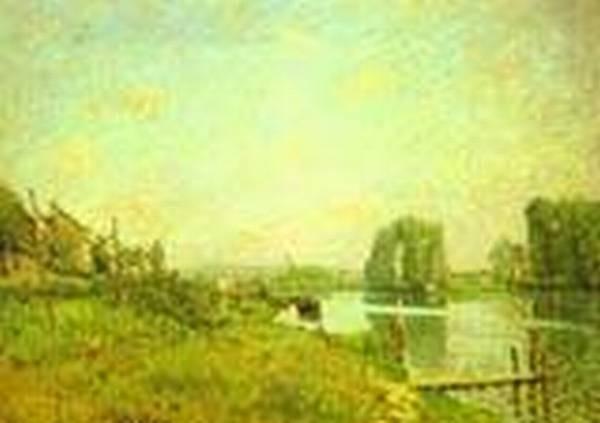 the ile saint denis 1872 XX musee dorsay paris france